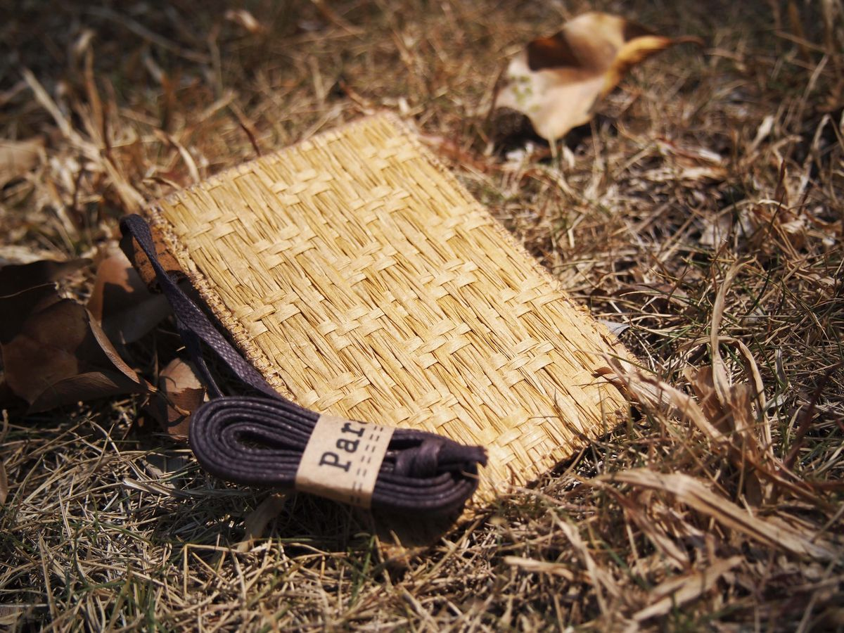 How To Make A Woven Grass Basket : Grass woven card holder custom made size paralife