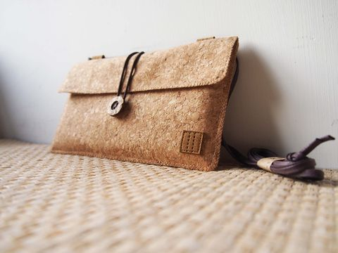 Cork,phone,bag,(horizontal),(custom,made,for,any,model)
