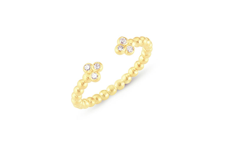 Bubble Open Diamond Ring - product image