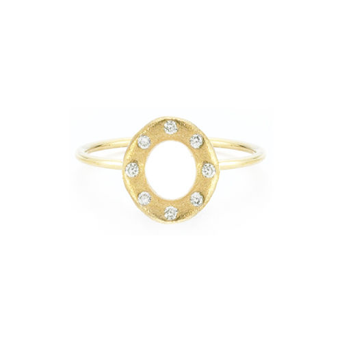 Oval Diamond Ring - product images  of