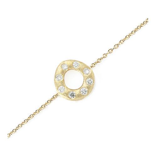 Oval Diamond Bracelet - product image