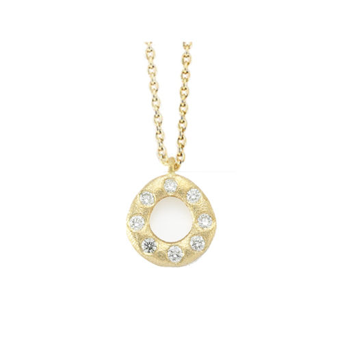 Oval Diamond Necklace - product image