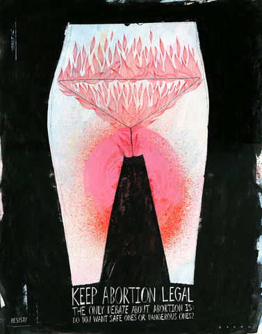 Keep,Abortion,Legal,Poster