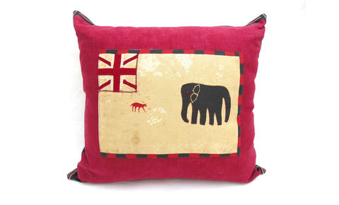 Elephant,Cushion,J,Cover,24