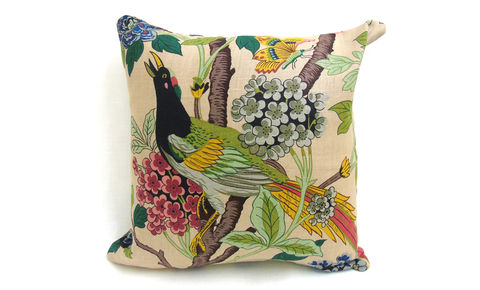 Hydrangea,Bird,Cushion,Cover,18