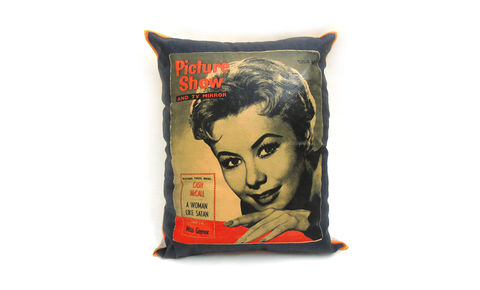 Picture,Show,Mitzi,Gaynor,Cushion,Cover,20,x,16