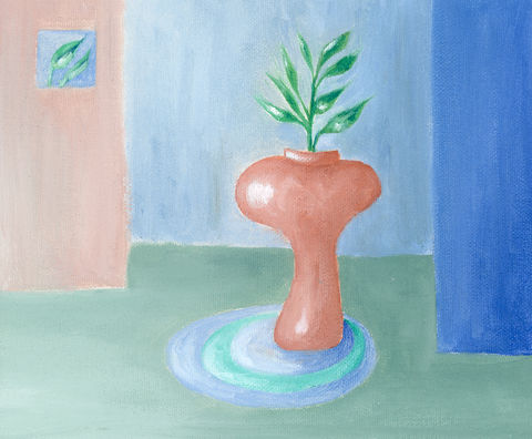 Contemporary,Vase,(original),$50,reduced,to,$30!!,vase