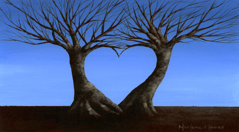 Love,Trees,(original),love, trees, heart, landscape, nature
