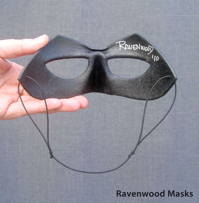 Shadow - superhero costume, leather mask - product images  of