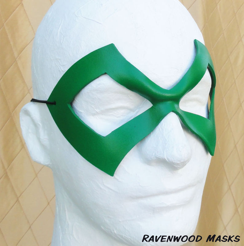 Excite - leather masquerade mask - product images  of