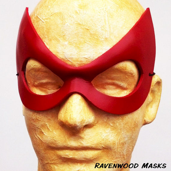 Radiant - leather masquerade mask - product images  of