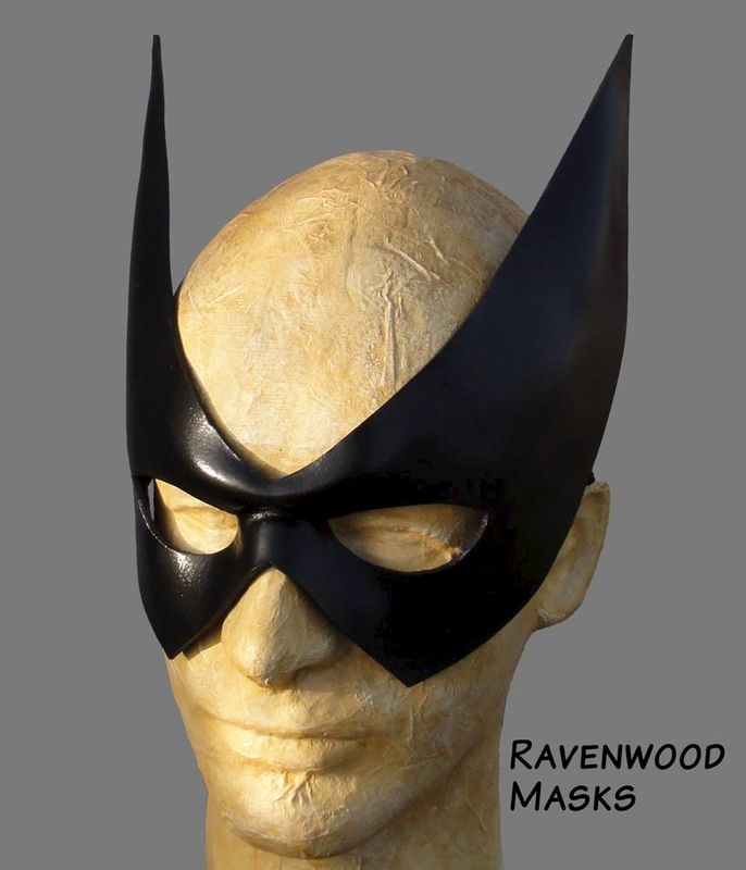 Sharp - leather mask - product images  of