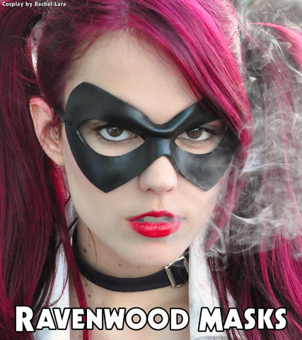 Supermask,-,leather,cosplay,mask,leather mask, masquerade mask, women, men, cosplay, harley quinn, mardi gras, halloween, costume, black leather