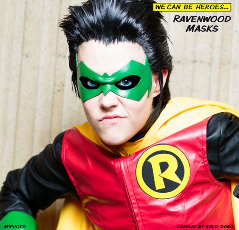 Renegade - leather superhero mask - product images  of