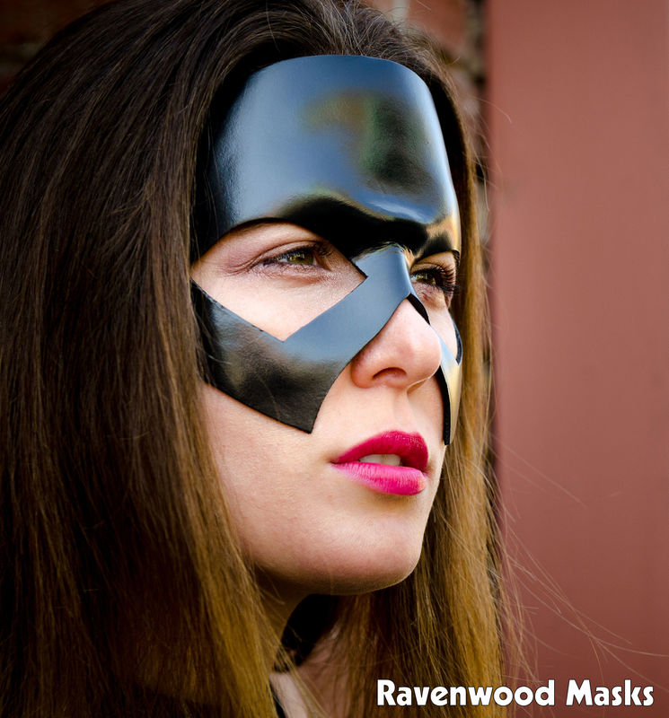 Steel - leather mask costume - product images  of