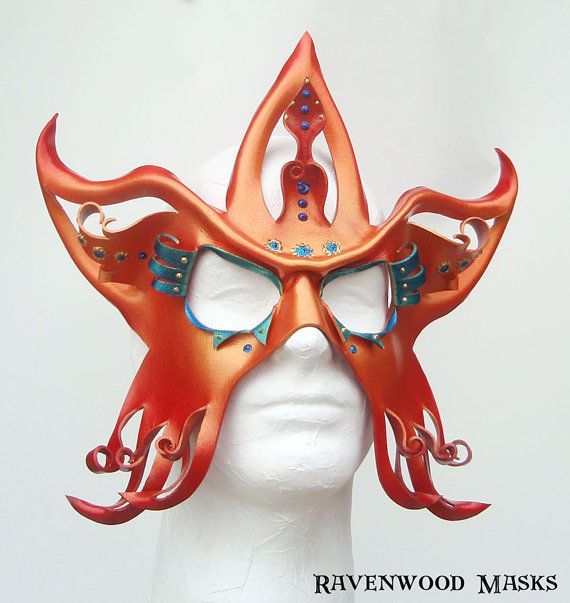 Circus Star - Mardi Gras masquerade mask - product images  of