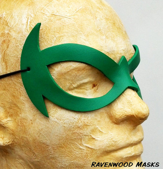 Daring - leather superhero mask - product images  of
