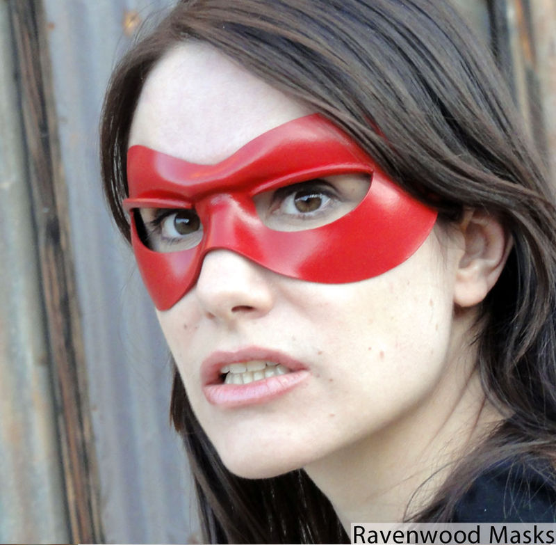 Bandit - classic leather masquerade mask - product images  of