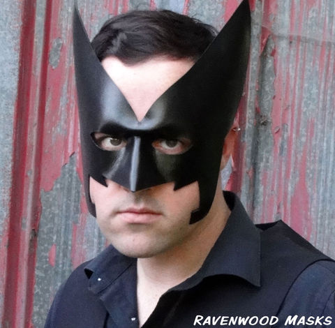 Dart,-,leather,mask,Halloween, Halloween costume, leather mask, masquerade mask for men, masquerade mask for women, black mask, costume, superhero, mardi gras mask, batman, batwoman