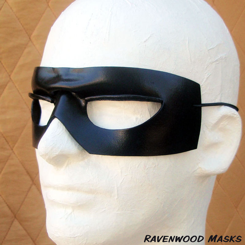 Ranger - leather masquerade mask - product images  of