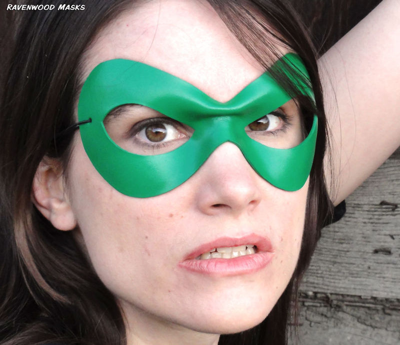 Supermask II - leather costume mask - product images  of