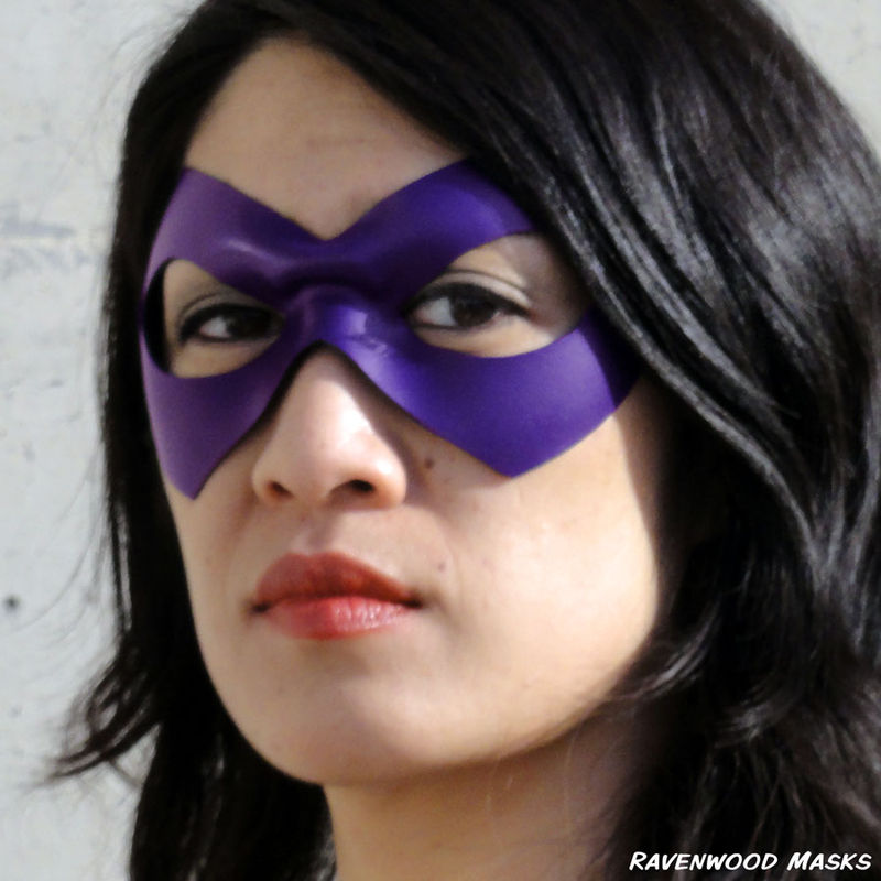 Supermask - leather cosplay mask - product images  of