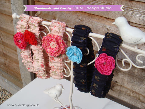 Super,Cute,garter,with,crochet,flower,,FREE,UK,Delivery,princess, crochet flower, pearl, button, garter, sexy garter, cute garter
