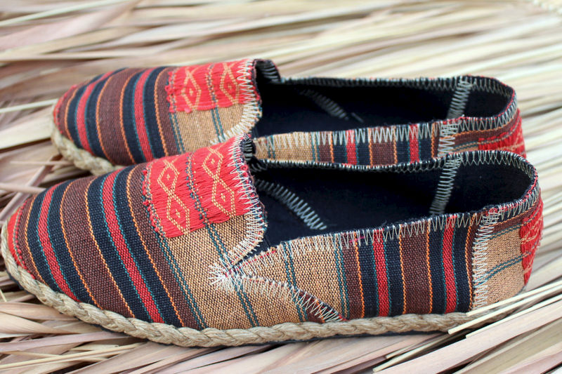 Morgan Tribal Womens Vegan Loafer In Ethnic Naga Textiles - product images  of