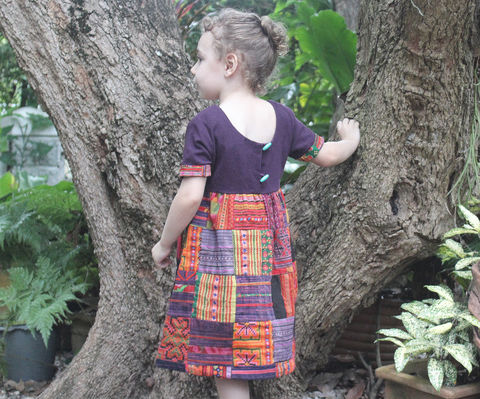 Delilah,Patchwork,Little,Girls,Hmong,Dress,Ethnic,Embroidery,And,Natural,Cotton,Children,Clothing,girls Hmong Dress,boho girls_dress,little_girls_dress,bohemian_child,bohemian kids, girls patchwork Hmong dress,eco_friendly_clothes,hippie_chic,hippie_kids,ethnic_clothes,boho,girls_clothes,fair_trade,Hmong_dress,2_3_4_5_6,kids,natural