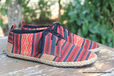 Maddie,Tribal,Womens,Oxford,Shoes,In,Naga,Textiles,womens shoes, vegan womens shoes, ethnic shoes, womens tribal shoes, handmade womens oxfords, eco friendly shoes, fair trade, womens fashion, womens Tribal shoes