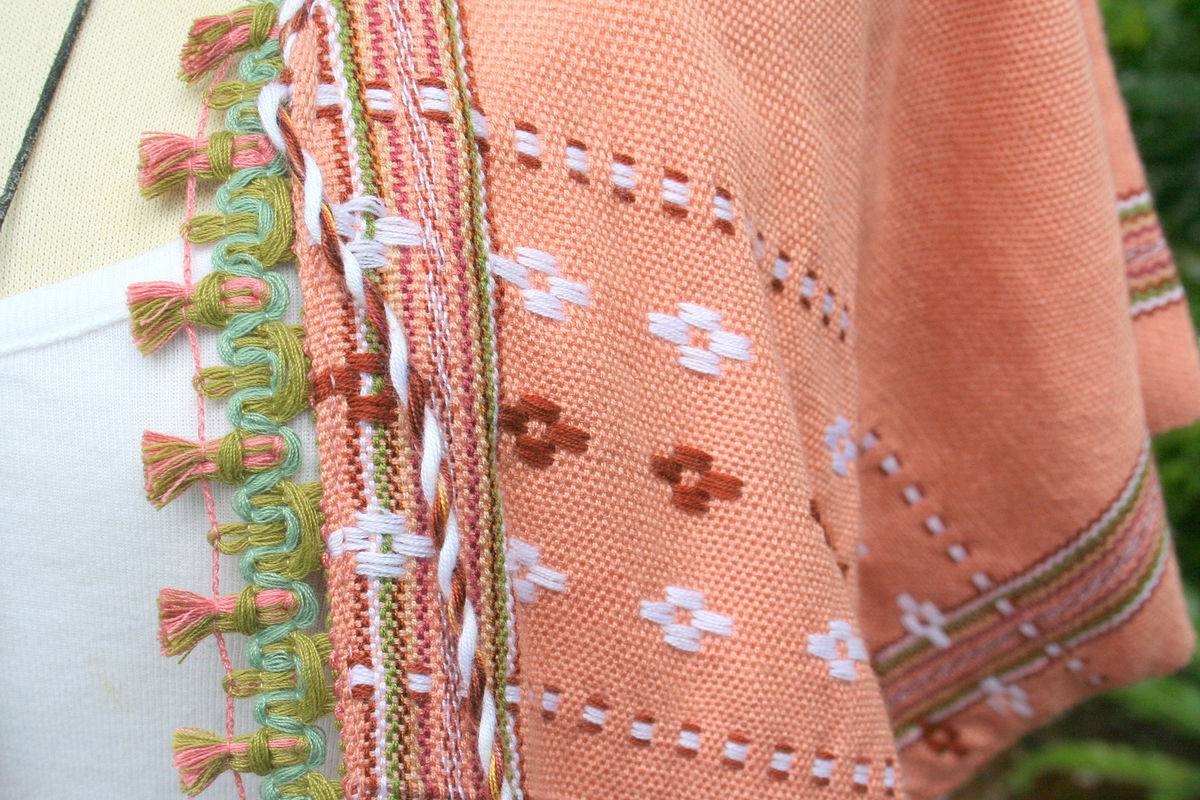 Nadiya - Karen Womens Tribal Coat - product images  of