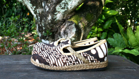 Casey,-,Women's,Vegan,Moccasin,Shoe,IN,Hand,Drawn,Jogjakarta,Batik,Clothing, womens vegan Shoes, vegan Flats, handmade Ethnic shoes,womens Espadrille, Flat,Vegan_shoes, womens_shoes,boho,espadrille_shoes,womens_espadrilles,Natural Cotton,Tribal shoes, hand drawn Jogjakarta batik
