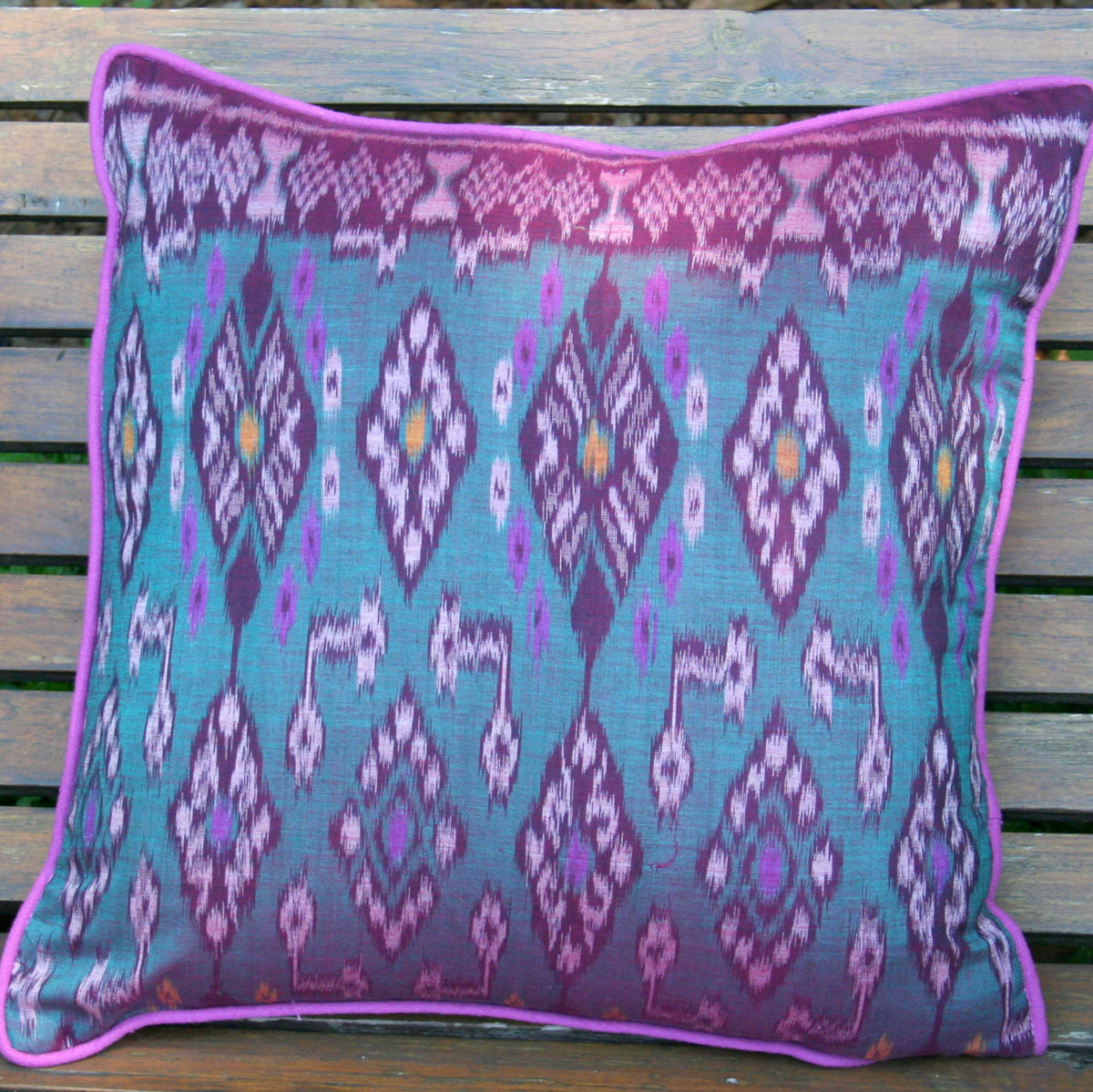 Indonesian Ikat Pillows, 20 inch Or 16 inch Pillows / Cushions - product images  of