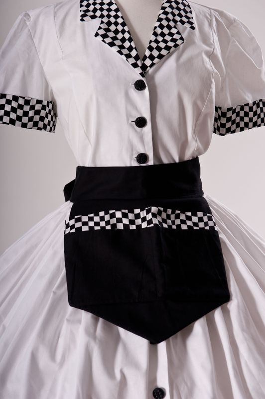 Car Hop 50s Waitress Costume  - product images  of