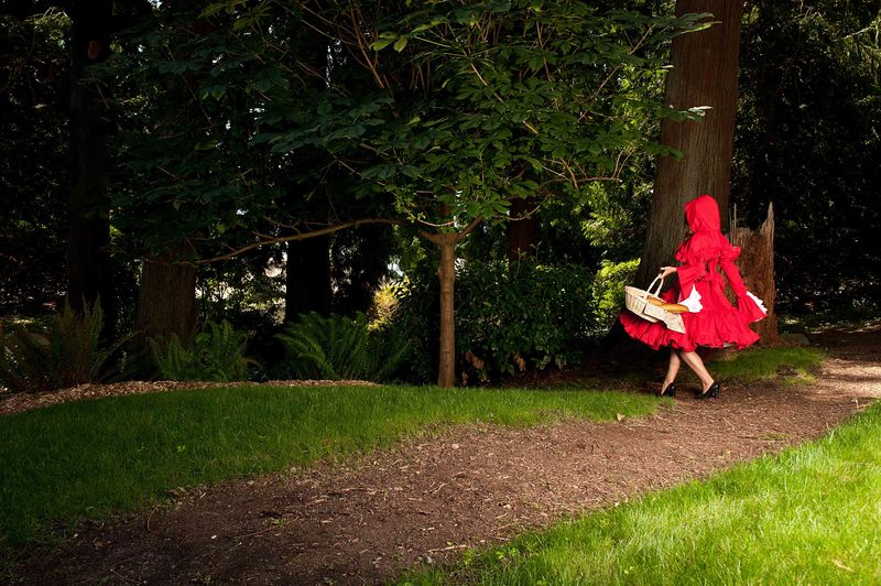Gothic Lolita Little Red Riding Hood Dress & Cape - product images  of