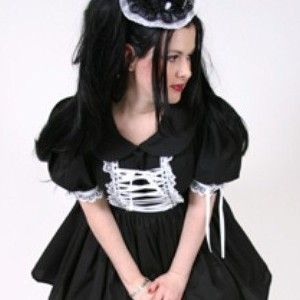 Gothic,Lolita,Lace,Up,Dress,Clothing,Women,gothic_lolita,gothic_lolita_dress,lolita_dress,gothic_dress,gothic,lolita,dress,black,white,goth_loli_dress,cosplay_dress,cosplay_lolita_dress,mgdclothing,cotton,lace,ribbon,thread,zipper