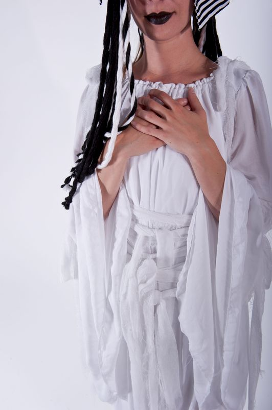 Mummy Ghost Bride of Frankenstein Gown - product images  of