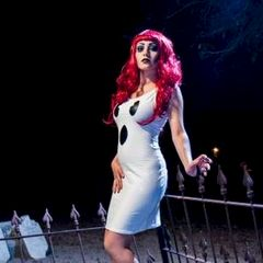 Sexy,Ghost,Costume,Stretch,Dress,ghost, sexy costume, halloween costume, white, knit, dress