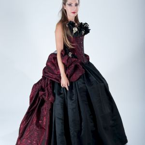 Voodoo Queen Gown Halloween Costume - product images  of