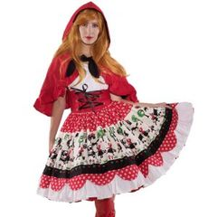 Anime,Little,Red,Riding,Hood,Costume,little red riding hood halloween costume unique couture high quality custom plus size made to measure
