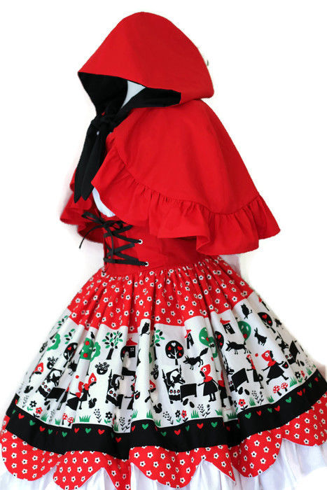 Anime Little Red Riding Hood Costume - product images  of