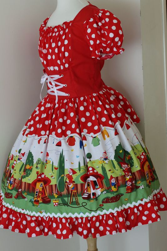 Cute Gnome Dress and Hat - product images  of