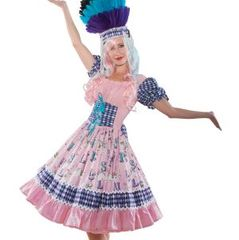 Circus,Carousel,Horse,Dress,circus clown harlequin carousel horse dress halloween costume pink blue custom size plus sizes made to measure unique couture costume
