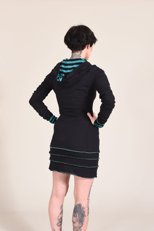 Hoodie Minidress or Extra Long Top - product images  of