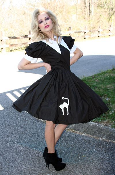 Cute Salem Witch Dress Halloween Costume - product images  of