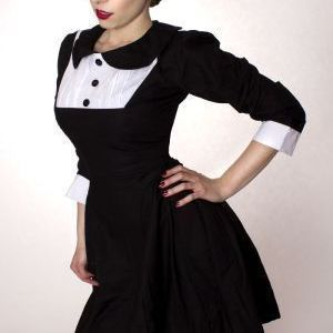 Wednesday,Aadams,Gothic,Dolly,Lolita,Dress,gothic dress, goth dress, lolita dress, gothic lolita dress, goth loli dress, a line goth dress, aline goth dress, aline gothic dress, a-line gothic dress, a line goth lolita dress, wednesday aadams dress, black a-line dress, custom made, plus size, made