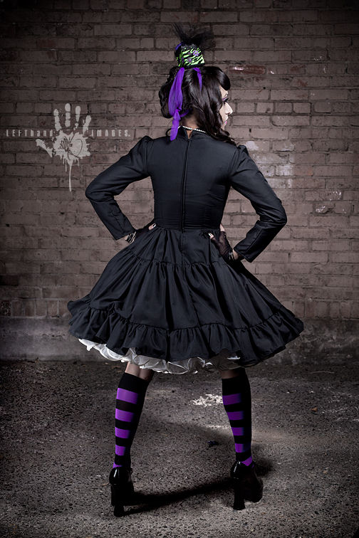 Steampunk Lolita Gothic Military Dress - product images  of