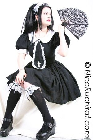 Gothic Lolita Cosplay Schoolgirl Dress - product images  of