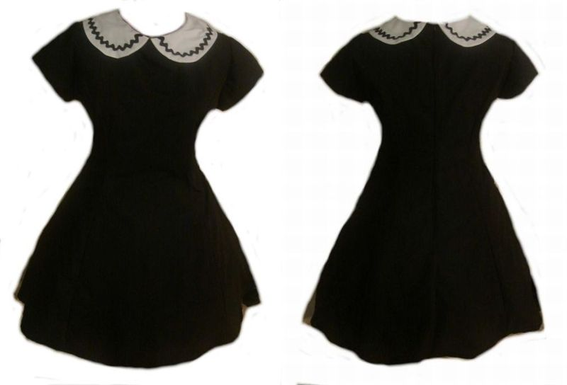 Gothic Lolita A line Mini Dress - product images  of