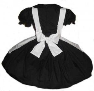 Gothic Alice in Wonderland Dress and Apron Costume - product images  of